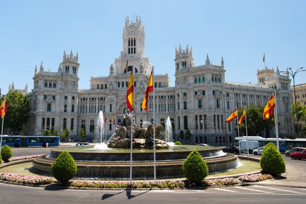 Cibeles fountain Madrid