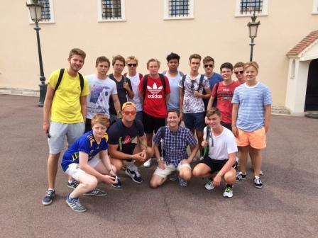 Antibes school trip