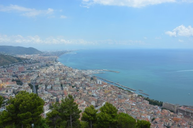 View of Salerno, Italy