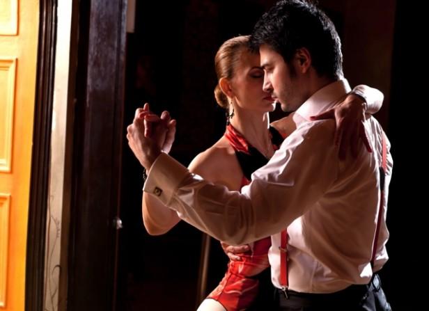 Argentina tango dancers