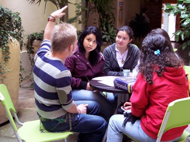 Students in Bogota