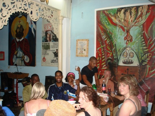 Fun night out in Santiago de Cuba