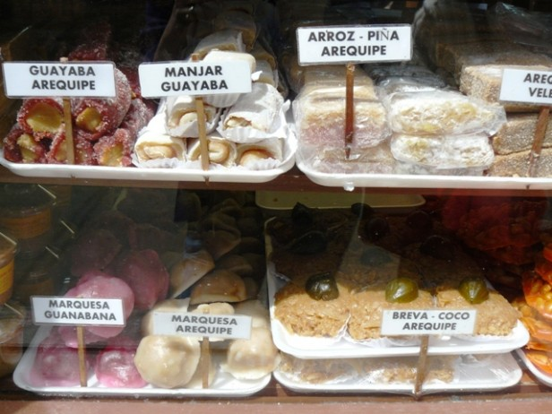 Colombian typical sweets