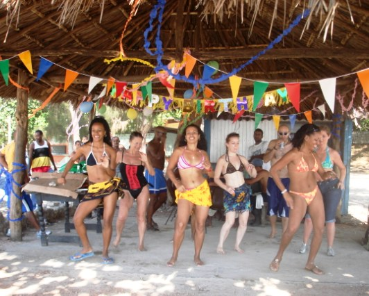 Dance Holiday Beach Party Santiago De Cuba
