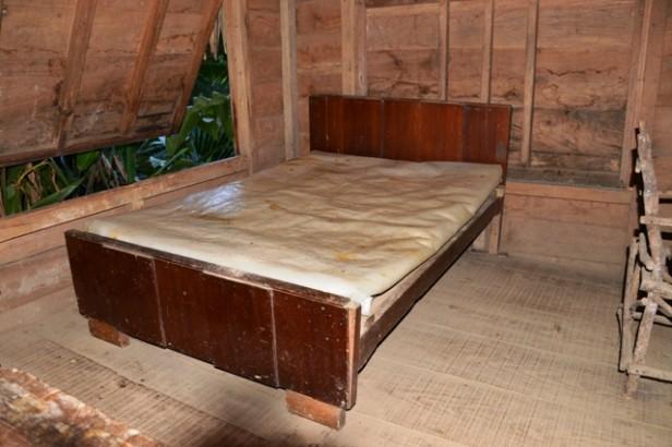 Fidel Castro's bed