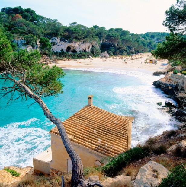 view of beach in Palma de Mallorca