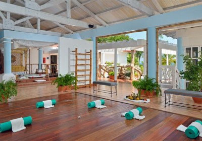 A yoga centre