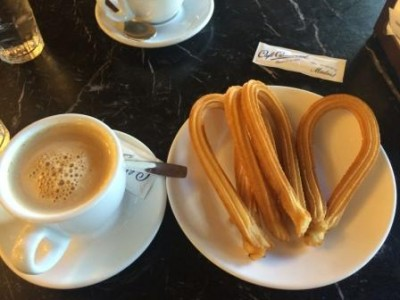 coffee and churros