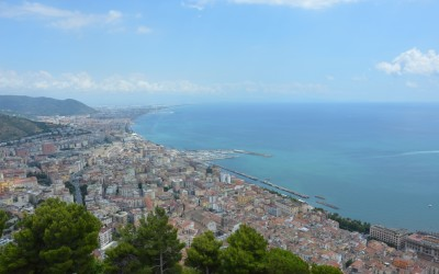 view of Salerno city
