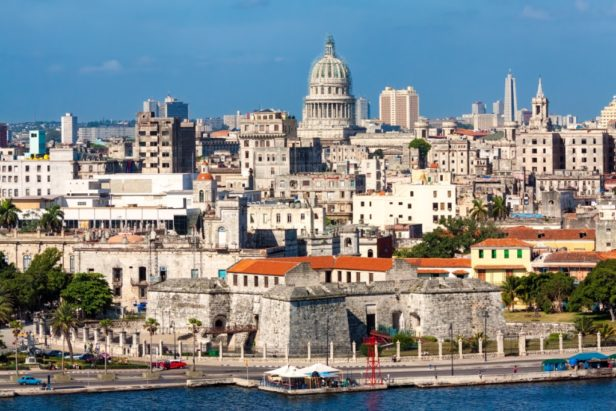 skyline view of Havana