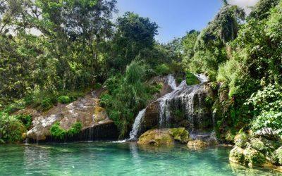 El Nicho waterfall cuba