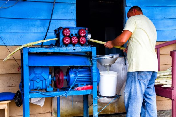Guarapo, sugarcane juice