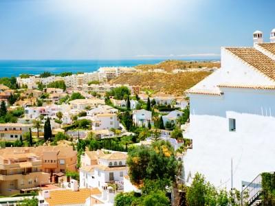 view of Benalmadena town