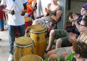 group music lesson in cuba